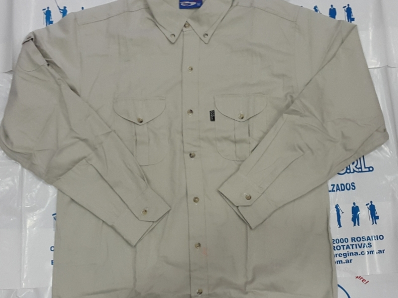 CAMISA BRAVO SAFARI COLOR BEIGE
